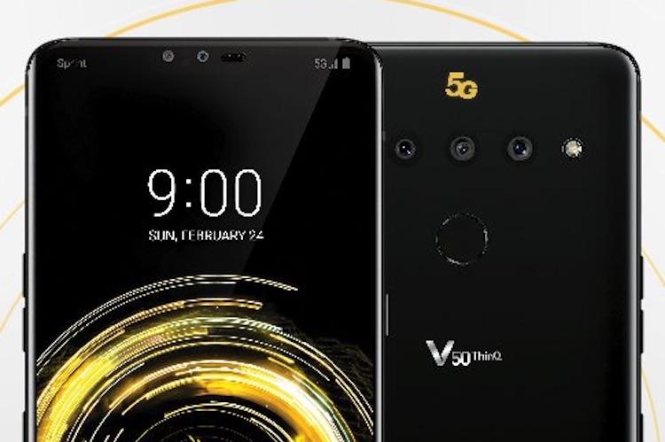 Gelekt! Dit is de eerste 5G smartphone van LG