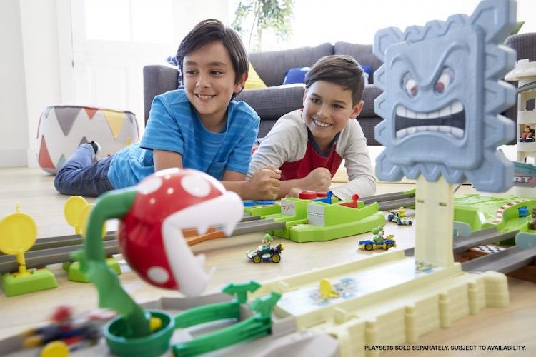Officieel: Mario Kart als Hot Wheels-set is hier