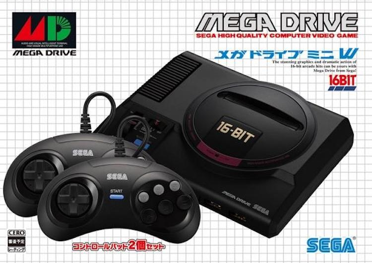 Officieel: alles over de Sega Mega Drive Mini