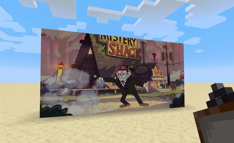 Films kijken op Minecraft, gewoon omdat het kan