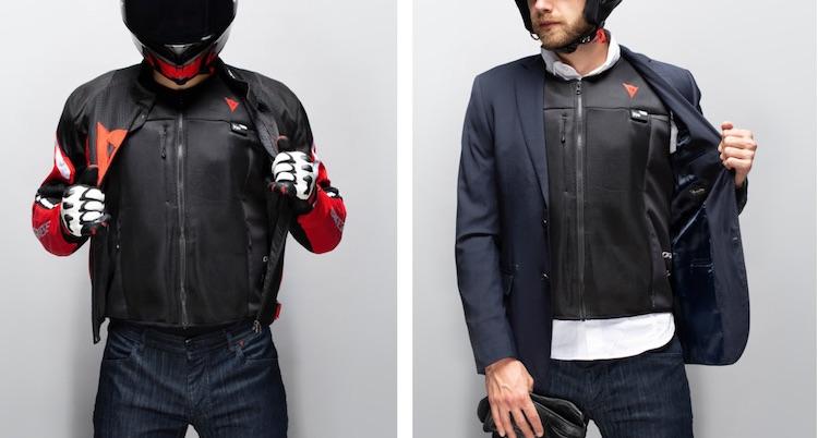 Met deze jas hoef je niet bang te zijn op een motor