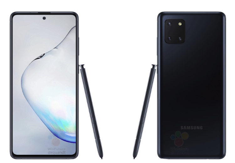 Gelekt: hier is de Samsung Galaxy Note 10 Lite