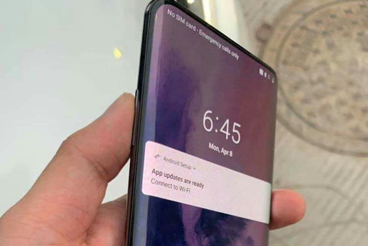 Wow, is dit de OnePlus 7 Pro met 5G-mogelijkheden?