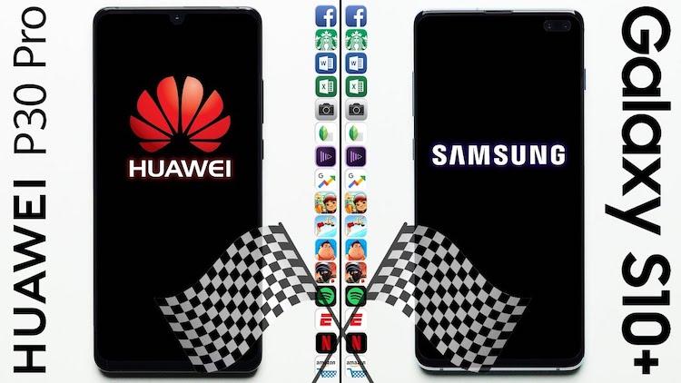 Huawei P30 Plus vs. Samsung Galaxy S10+