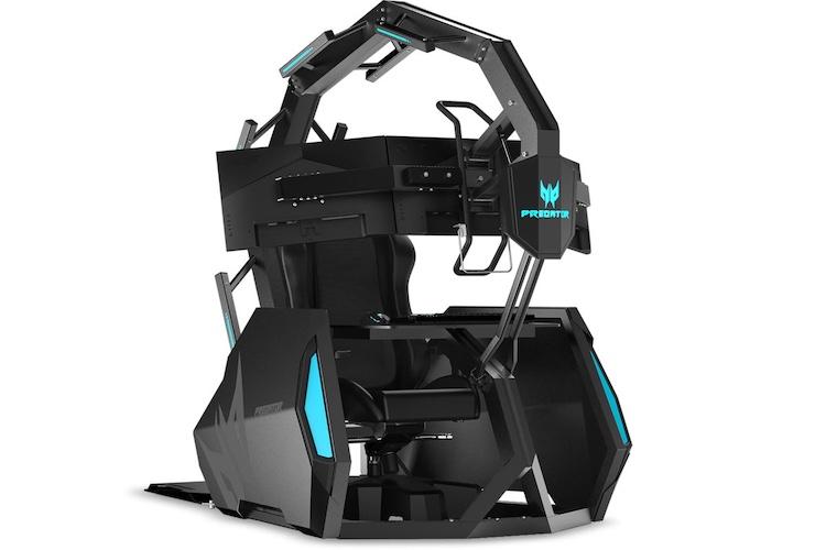 Deze gamestoel van Acer kost je 10.000 euro