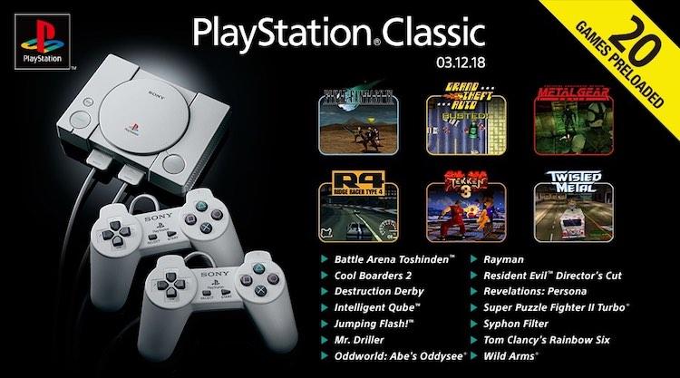 PlayStation Classic nu te koop voor dumpprijzen