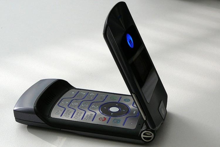 'Iconische Motorola RAZR komt terug als dure smartphone