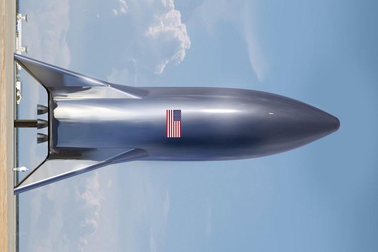 Dit is het idee van Elon Musk voor de SpaceX Starship