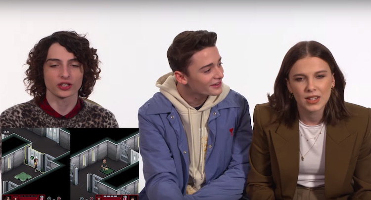 Video: Stranger Things-cast aan de slag met eigen game