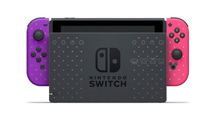 Zo zag je de Nintendo Switch nog niet eerder