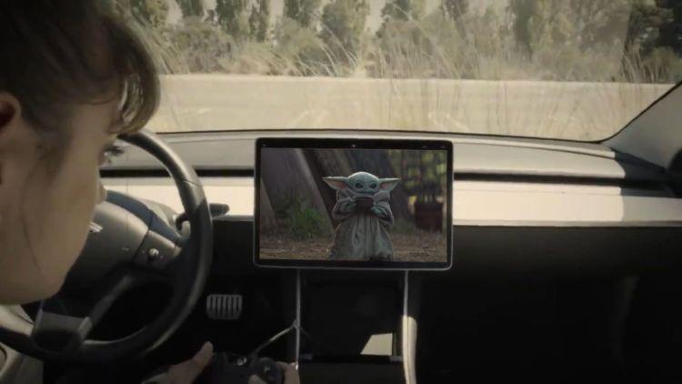 Disney+ komt naar Tesla