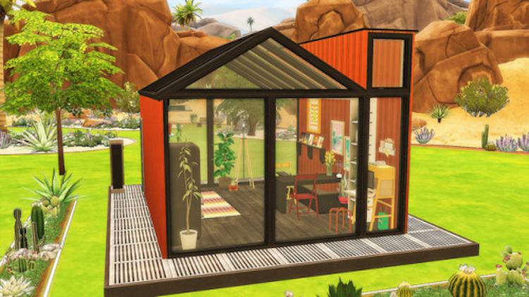 Hier, de nieuwste trend in Sims 4