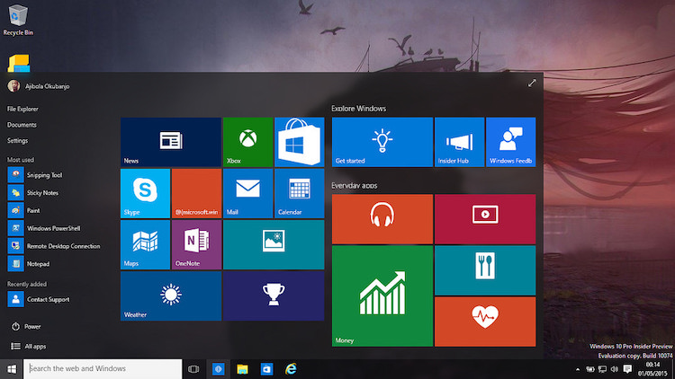 Windows 10-update neemt 7GB schijfruimte in