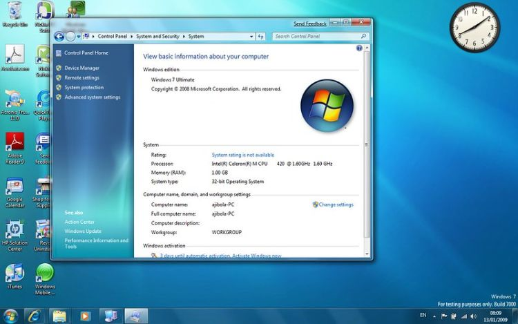 Windows 7 Extended Security Updates bypass