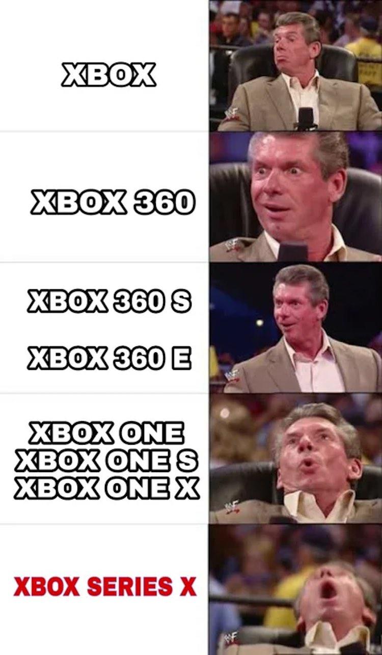Xbox Series X: de leukste reacties van het internet