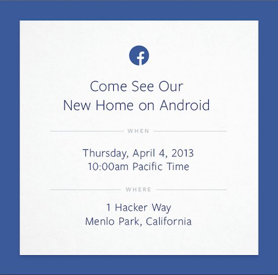 'Facebook komt met telefoon'
