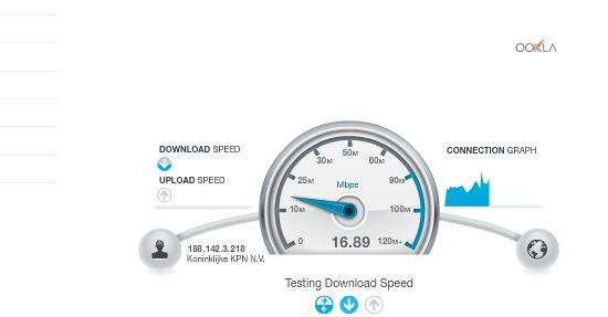 'UPC verhoogt internetsnelheid van 120 naar 200Mbit/s